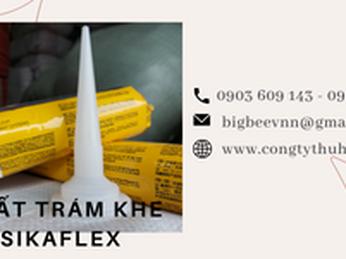 Tìm hiểu về chất trám khe đàn hồi Sikaflex dùng trong xây dựng