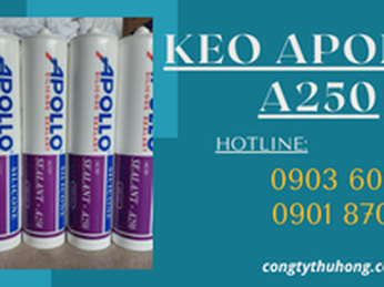 Ưu điểm của keo Apollo A250 bạn cần biết