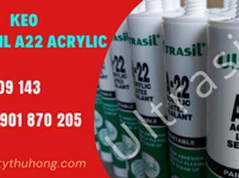Keo trám ống dẫn gió lạnh Ultrasil A22 acrylic