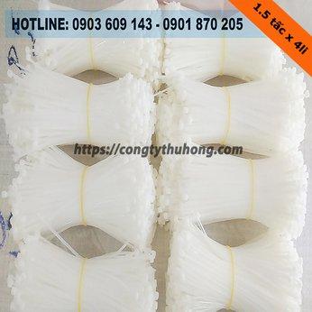 Dây rút nhựa trắng 1.5 tấc