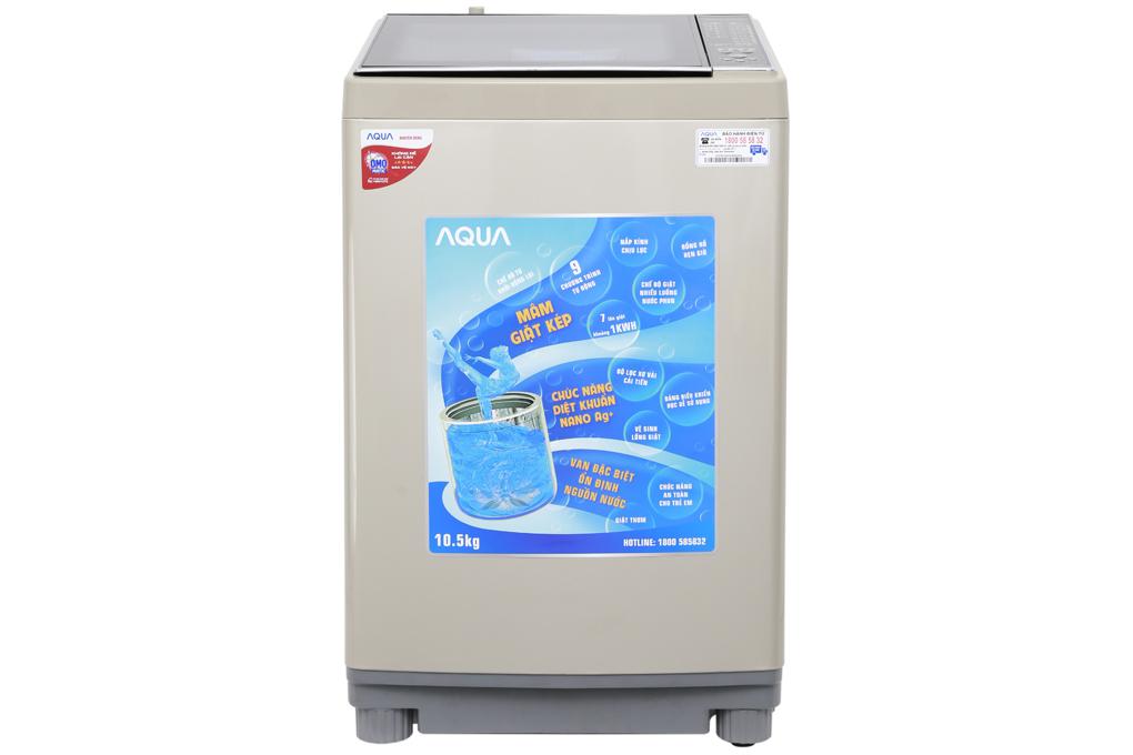 Máy giặt Aqua 10.5 kg AQW-FW105AT | Chính Hãng