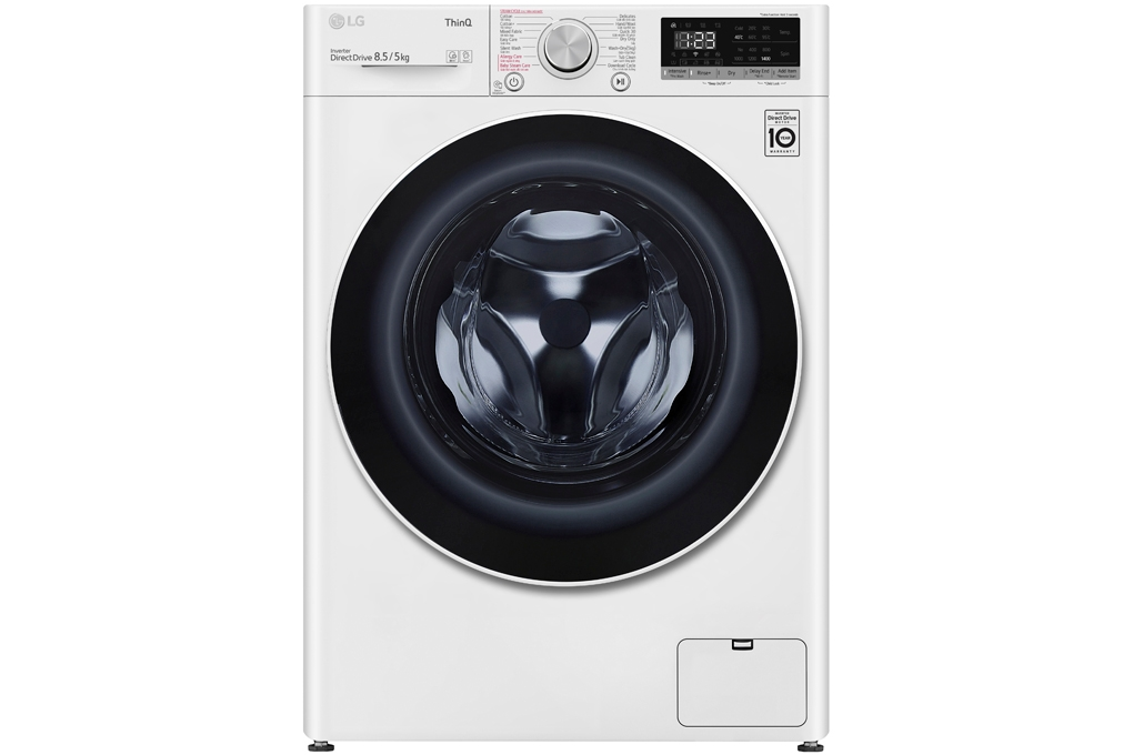 Máy giặt sấy LG Inverter 8.5 kg FV1408G4W | Chaoban.com.vn