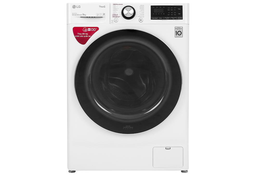 Máy giặt LG Inverter 9 kg FV1409S2W | Chaoban.com.vn