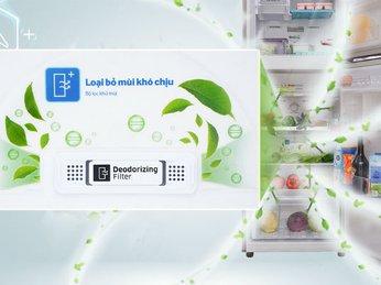 Công nghệ kháng khuẩn trên tủ lạnh Toshiba