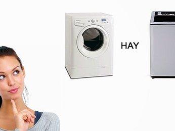 Chọn máy giặt cửa trên hay cửa trước ? Loại nào phù hợp !