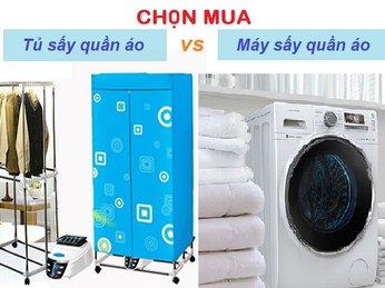 Chọn tủ sấy hay máy sấy quần áo cho mùa mưa?