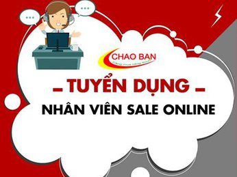 TUYỂN DỤNG SALE ONLINE