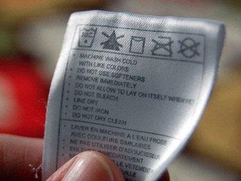 Các biểu tượng lưu ý khi giặt bằng máy giặt