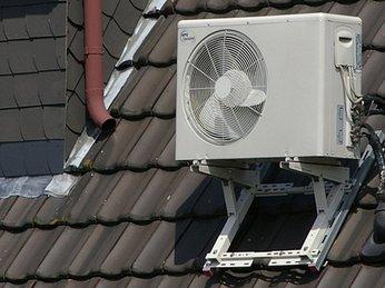 Cục nóng máy lạnh ngoài trời