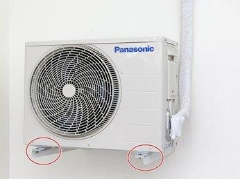 khắc phục Cục nóng máy lạnh kêu to và rung lắc