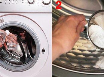 Dùng baking soda để vệ sinh máy giặt cực kỳ đơn giản