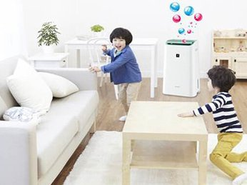 Dùng máy lọc không khí cho trẻ em và trẻ sơ sinh có tốt không?