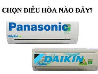Khác biệt giữa điều hòa Panasonic và điều hòa Daikin
