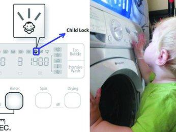 Khóa trẻ em có gì tiện ích và chế độ tự động khởi động lại