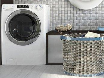 Máy giặt lồng ngang phù hợp với bà nôi trợ nhất