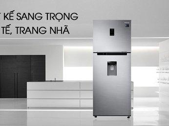Tinh tế tủ lạnh 2 dàn lạnh độc lập của Samsung