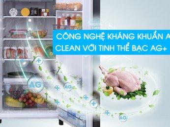 Tủ lạnh Panasonic với công nghệ kháng khuẩn và bảo quản thực phẩm