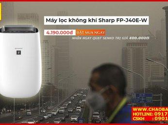 Tại sao bạn nên mua máy lọc không khí Sharp FP-J40E-W