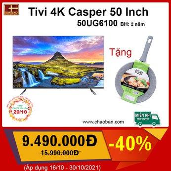 Android Tivi 4K Casper 50 Inch 50UG6100