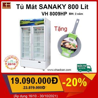Tủ Mát SANAKY 800 Lít VH 8009HP