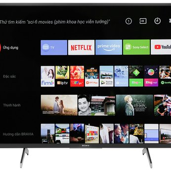 Android Tivi Sony 4K 55inch KD-55X8000H