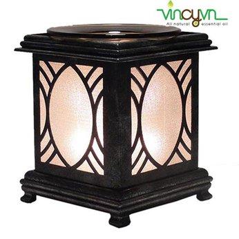 Đèn đốt tinh dầu khung gỗ bạch đàn VCDG001