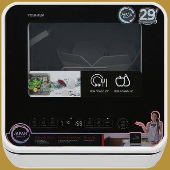 Máy rửa chén mini Toshiba DWS-22AVN K