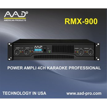 POWER AMPLIFIER AAD RMX 900