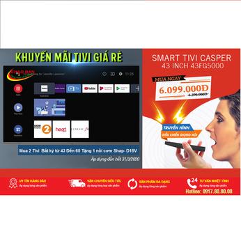 Smart Tivi Casper 43 inch Full HD 43FG5000