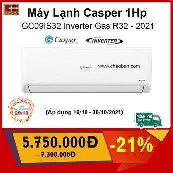 Máy lạnh Casper Inverter 1 HP GC-09IS32  (1)
