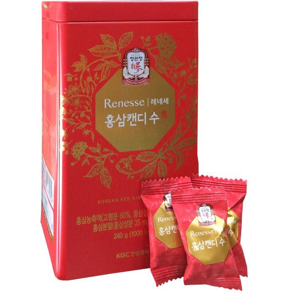 Kẹo sâm Hàn Quốc KGC Có Đường