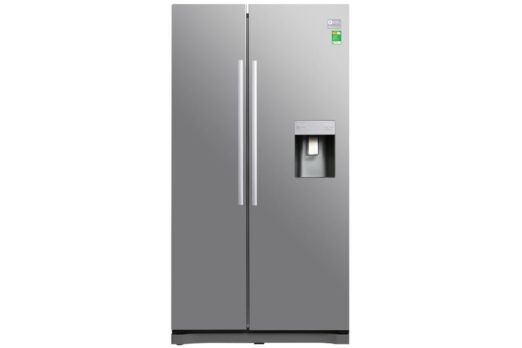 Tủ lạnh Samsung Inverter 538 lít RS52N3303SL/SV hàng chính hãng, Tủ lạnh Samsung Inverter 538 lít RS52N3303SL/SV giá rẻ tại Ababa