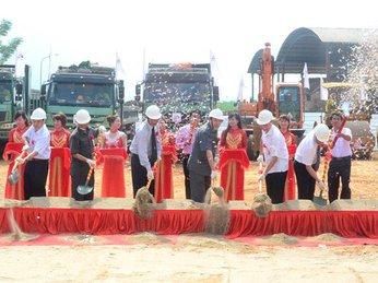Khởi công xây dựng Nhà máy điện sinh khối mía đường Tuyên Quang