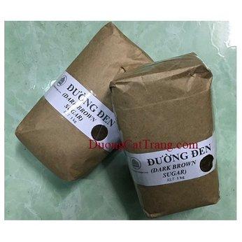 Đường đen túi giấy 1kg (Dark brown Sugar)