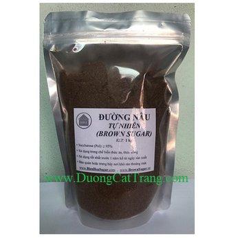 Đường Nâu Tự Nhiên 1kg (Brown Sugar)
