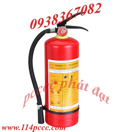 Bình Chữa Cháy Bột BC 4kg-MFZ4