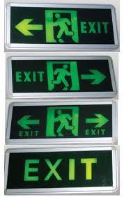 Đèn exit trung quốc chỉ lối thoát hiểm