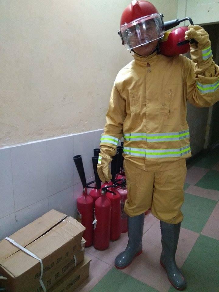 Giá quần áo chữa cháy theo thông tư 48