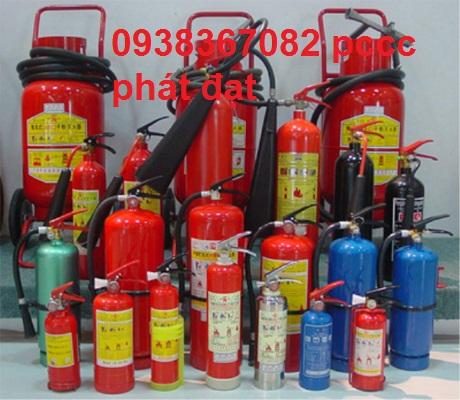 Nạp bình chữa cháy tại quận tân phú