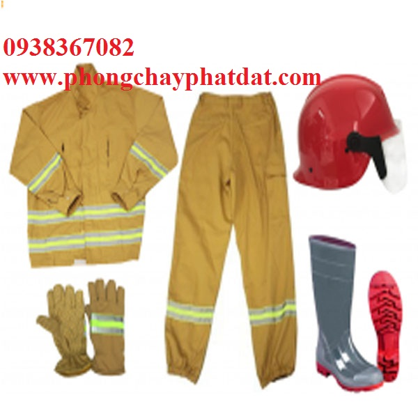 Quần áo bảo hộ pccc