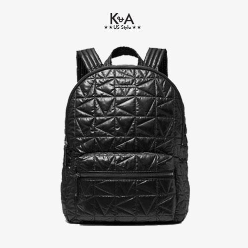 Balo Michael Kors hàng hiệu 35T0UW4B7C - Winnie Large Quilted Backpack - Black