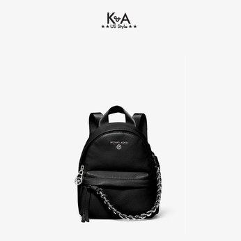 Balo Michael Kors mini Slater Black Leather Backpack,  balo MK mini hàng hiệu dạo phố, balo michael kors chính hãng, balo MK mini thời trang giành cho nữ, balo Michael Kors chính hãng authentic, balo michael kors mini authentic du lịch sành điệu