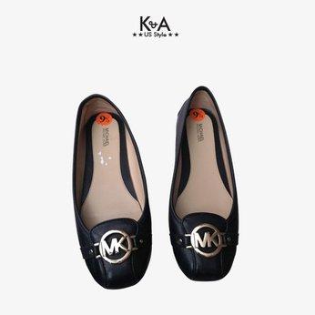 Giày búp bê Michael Kors nữ  fulton moc flats - black