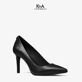 Giày cao gót Michael Kors nữ Dorothy Flex Leather Pump-BLACK