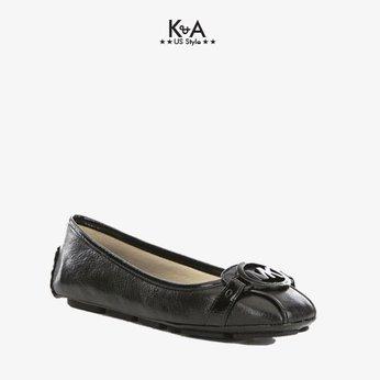 Giày búp bê Michael Kors nữ Giày Fultom Moc Black logo