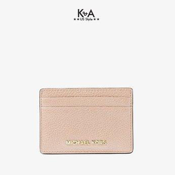 Card Holder Michael Kors hàng hiệu32F7GF6D0L-Pebbled Leather Card Case