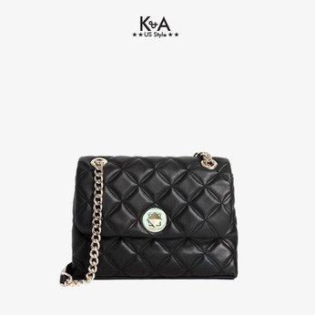 Túi xách Kate Spade nữ đeo chéo hàng hiệu WKRU7074-SMALL FLAP CROSSBODY NATALIA-BLACK