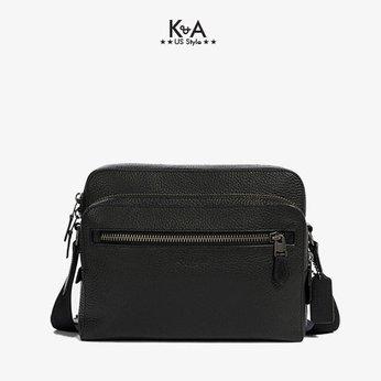 Túi đeo chéo Coach nam hàng hiệu mã 914484 WST CAM BAG PMLD LTH , túi đeo chéo Coach nam sành điệu, túi Coach nam , túi Coach nam lịch lãm, túi Coach hàng hiệu chính hãng, túi Coach authentic màu đen dành cho nam