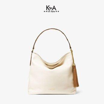 Giỏ xách Michael Kors hàng hiệu authentic Brooklyn Large Shoulder Leather Bag, giỏ xách MK chính hãng giành cho nữ, túi xách michael kors hàng hiệu màu trắng size trung, túi xách MK hàng hiệu dạo phố, túi xách MK văn phòng