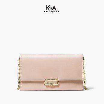 Túi xách Michael Kors đeo chéo cầm tay Cece Soft Pink Large Clutch Xbody,  túi xách MK đeo chéo cầm tay màu hồng dự tiệc, túi xách MK chính hãng đeo chéo và cầm tay dạo phố, túi xách michael kors màu trắng chính hãng size lớn